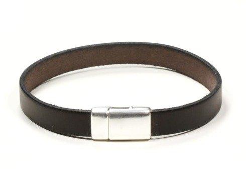 CHOCOLATE Leather bracelet
