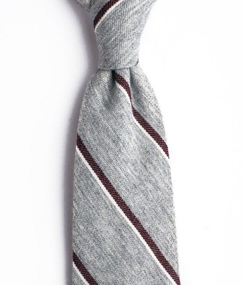 UNTIPPED CASHMERE grey TIE