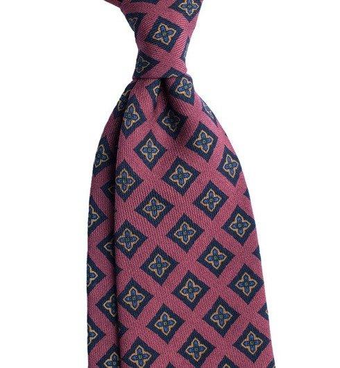 wool challis tie