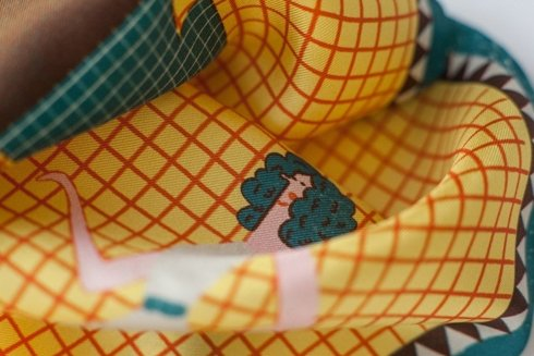 "silk pocket square ""Lets dance"""