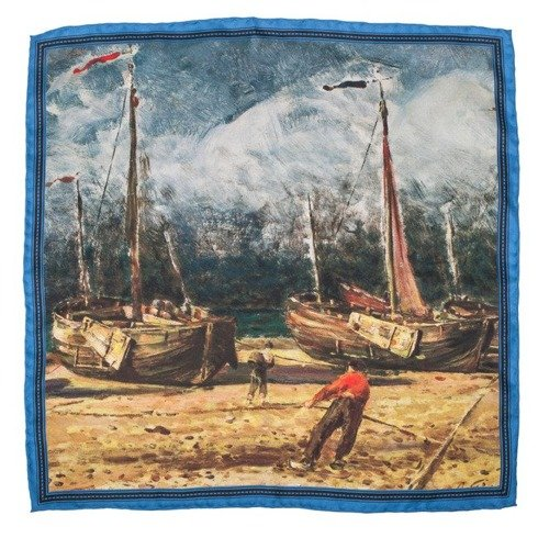 Artworks collection 'Fishing boats at the shore'