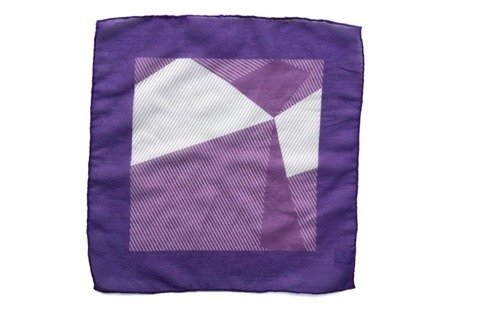 Cotton-Silk Pocket Square
