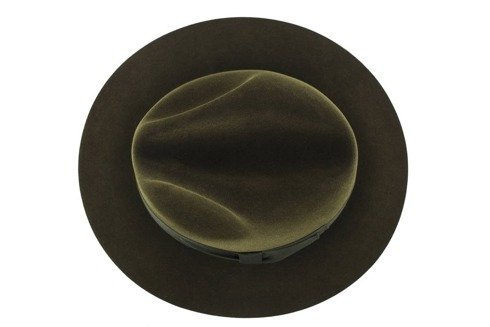Fedora hat Olive green