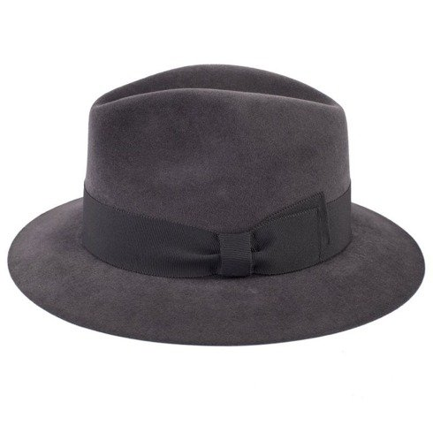 Fedora hat grey