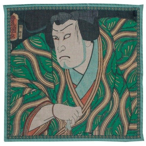Japanese collection Utagawa Kunisada, Kataoka Nizaemon the actor