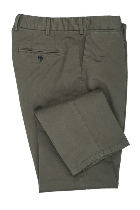 Olive Chino Trousers