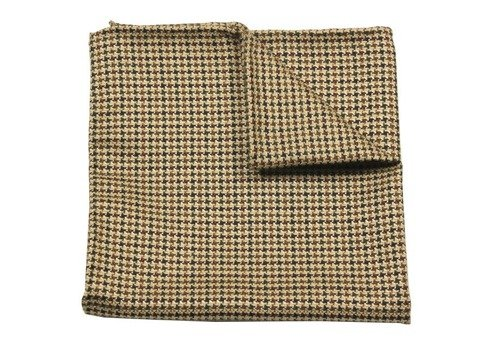 POCKET SQUARE WOOL AND SILK
