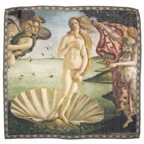 Pocket square 'The Birth of Venus' Sandro Botticelli