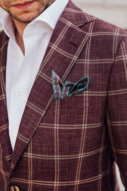 "Preorder: burgundy jacket ""Marlon"""