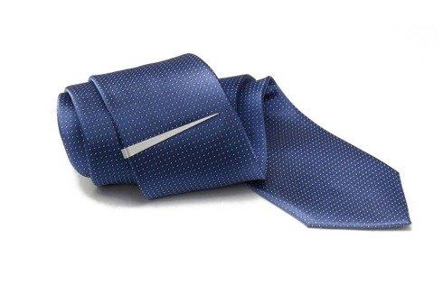 Silver Tie Clip Pin