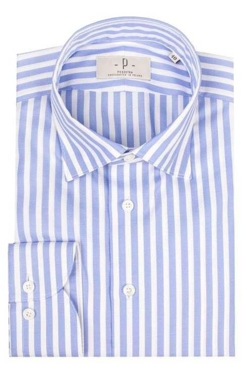 cotton Oxford shirt with spalla camicia shoulder