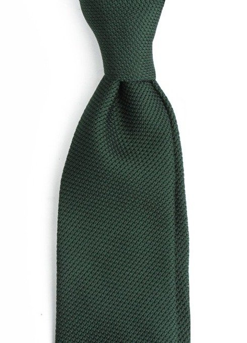 green grenadine tie (garza fina)