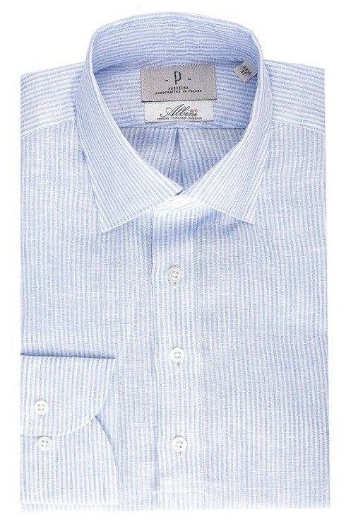 linen button down popover