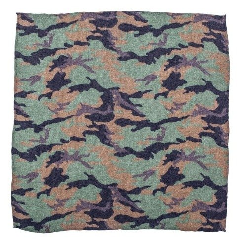 pocket square camo