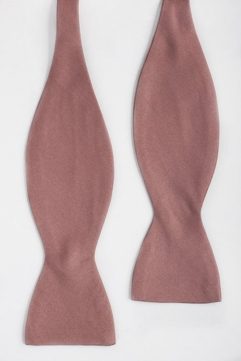 salmon Macclesfield bow tie
