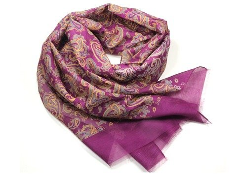 soft cotton & silk scarf