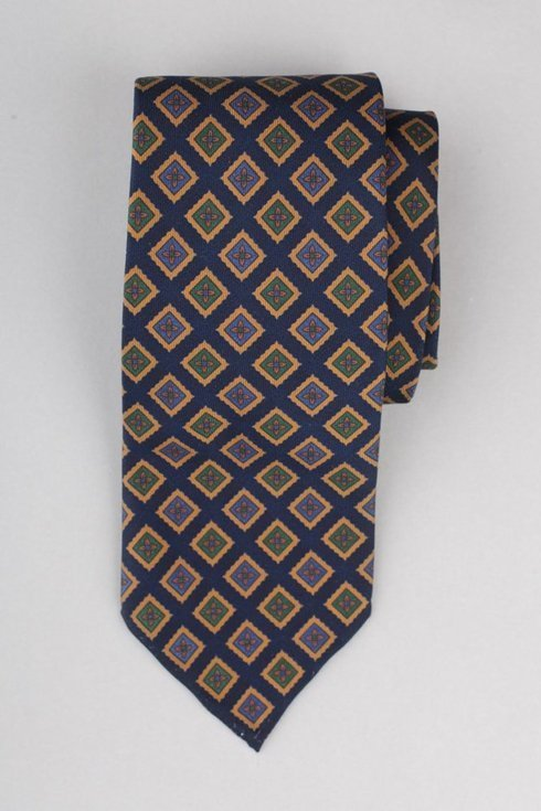 Ancient Madder Silk Untipped tie