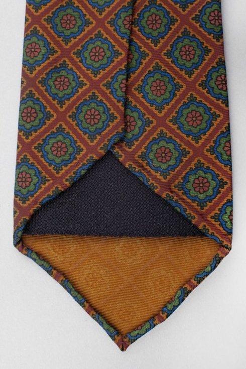 Ancient Madder Silk Untipped tie