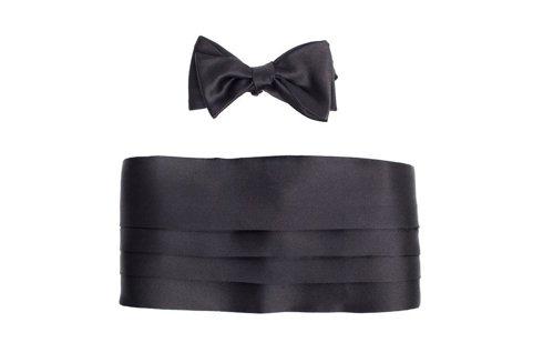 Cummerbund + bow tie