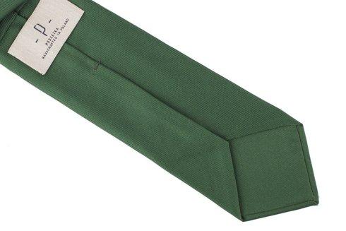 GREEN SIX FOLD MACCLESFIELD TIE