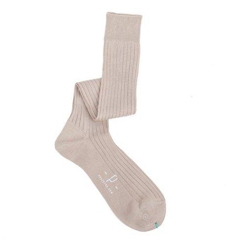 Knee socks beige