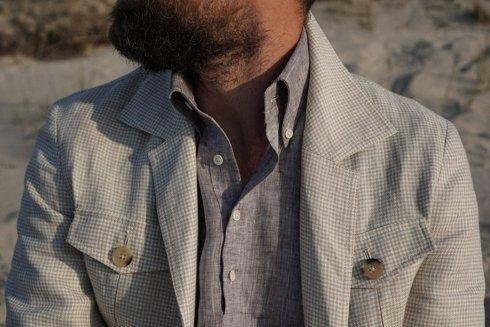 Preorder: Safari linen jacket