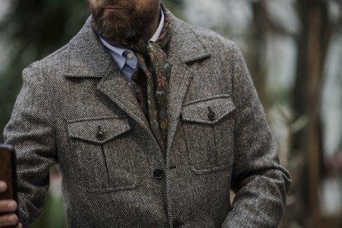 Preorder: Tweed safari jacket 'James'