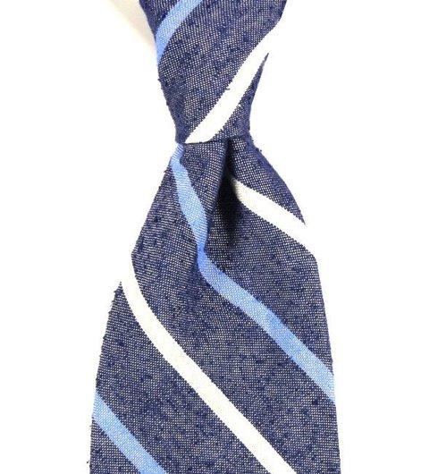 Tie Raw silk