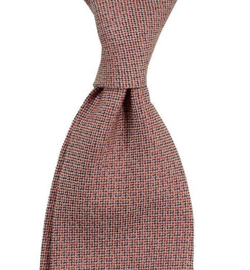 Tie cotton and silk
