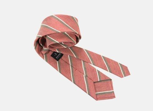 Tie linen/silk