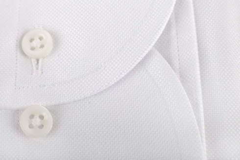 White OCBD shirt Albini