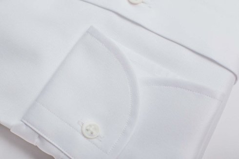 White shirt cuteway