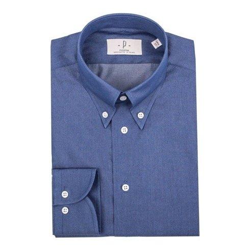 denim button down shirt