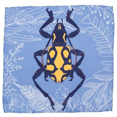pocket square 'Beetle'