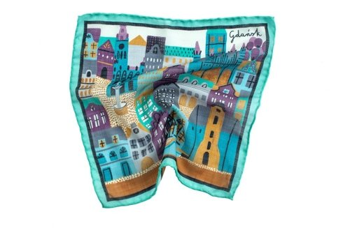 pocket square gdansk
