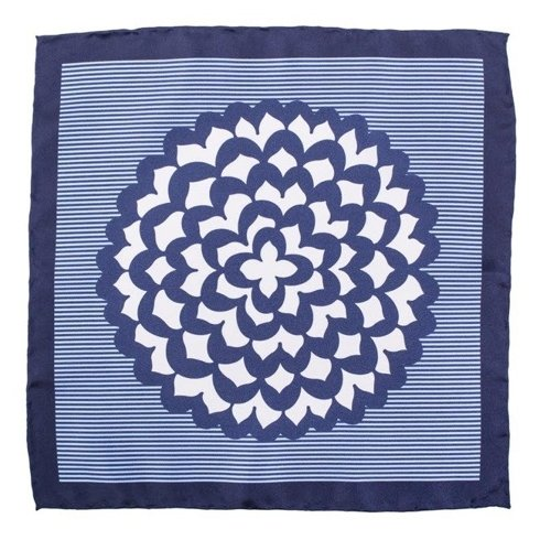 pocket square kaleidoscope