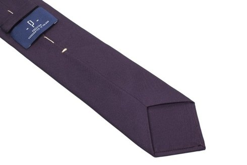 salmon SIX FOLD MACCLESFIELD TIE