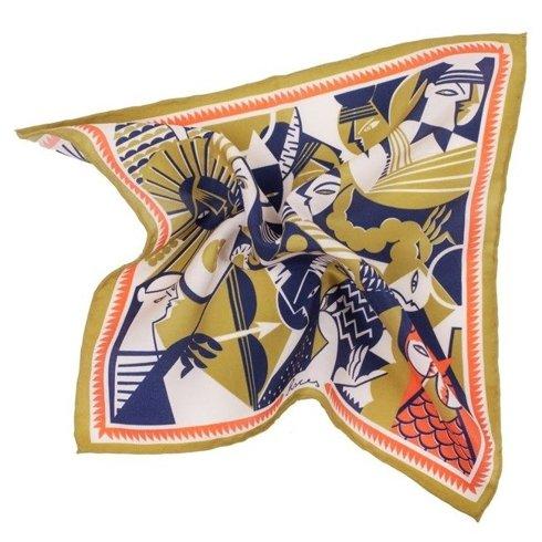 silk pocket square zodiac Pisces