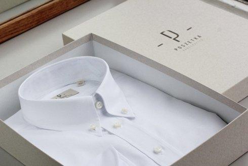 white OCBD shirt