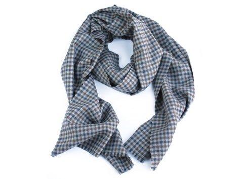 wool & cashmere grey scarf