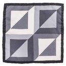 pocket square grey squares