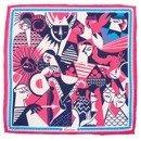 silk pocket square zodiac Cancer