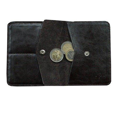 Czekoladowy portfel z bilonówką