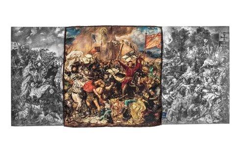 """Obrazy mistrzów """"Bitwa pod Grunwaldem"""""""